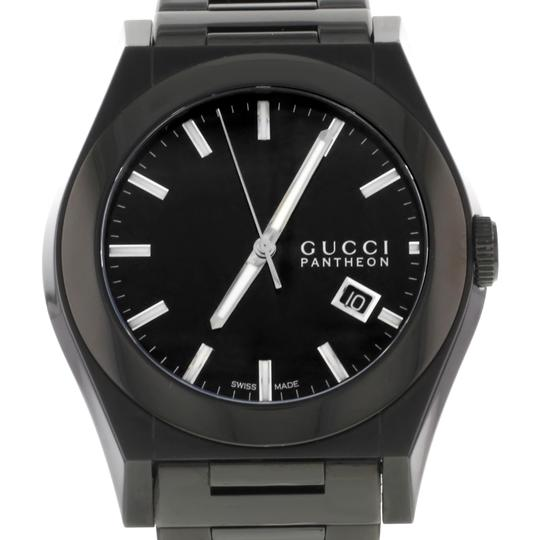 Gucci Mens 115 YA115244 44mm Watch (8921)