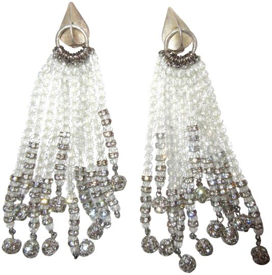 Preload https://item5.tradesy.com/images/white-and-silver-jessye-norman-estate-crystal-tassel-clip-opera-chandelier-earrings-22506524-0-1.jpg?width=440&height=440