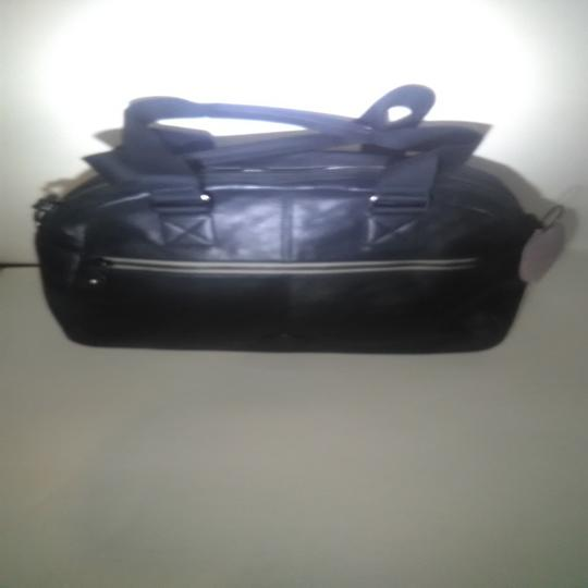 Kipling New With Tags Leather Defea Satchel in Black Image 2