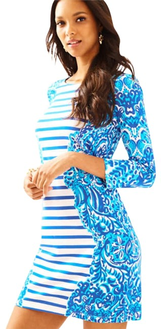 Preload https://item1.tradesy.com/images/lilly-pulitzer-nila-jellies-stripe-short-workoffice-dress-size-4-s-22506665-0-2.jpg?width=400&height=650