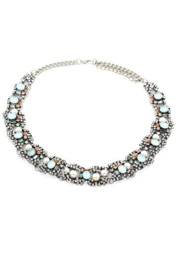 Preload https://item5.tradesy.com/images/silver-multiple-colour-crystal-and-pearl-side-necklace-22506689-0-0.jpg?width=440&height=440