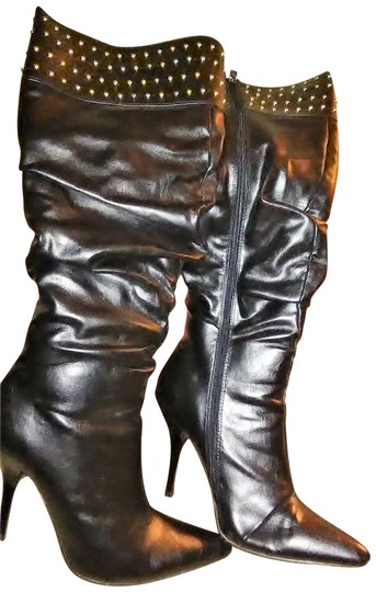 Preload https://item3.tradesy.com/images/anne-michelle-black-collection-bootsbooties-size-us-65-regular-m-b-22506832-0-1.jpg?width=440&height=440
