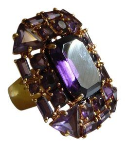 V By Eva V By Eva Amethyst Gemstone Ring size 9