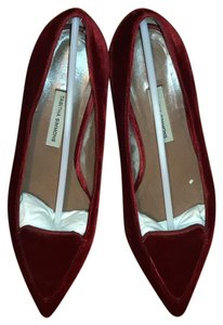 Tabitha Simmons red Flats