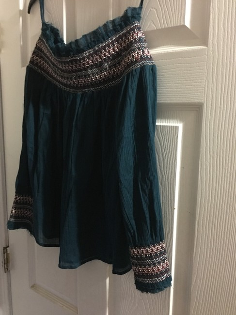 Love Sam Top Dark green