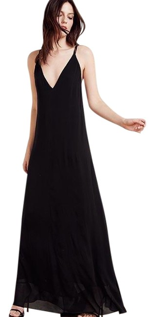 Preload https://item3.tradesy.com/images/reformation-black-angelina-long-night-out-dress-size-0-xs-22506992-0-1.jpg?width=400&height=650