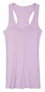 dELiA*s Embellished Racer-back Top Lavender