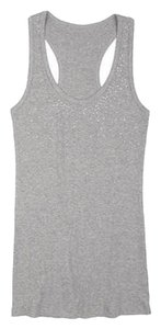 dELiA*s Embellished Racer-back Top Grey
