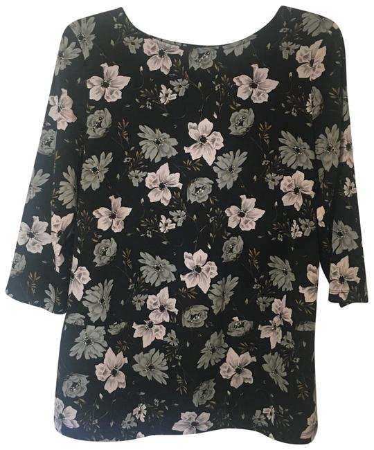 Preload https://img-static.tradesy.com/item/22507182/french-connection-black-floral-blouse-size-6-s-0-1-650-650.jpg