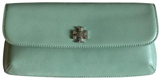 Preload https://item5.tradesy.com/images/tory-burch-diana-mint-green-turnlock-northern-lights-saffiano-leather-clutch-22507204-0-5.jpg?width=440&height=440