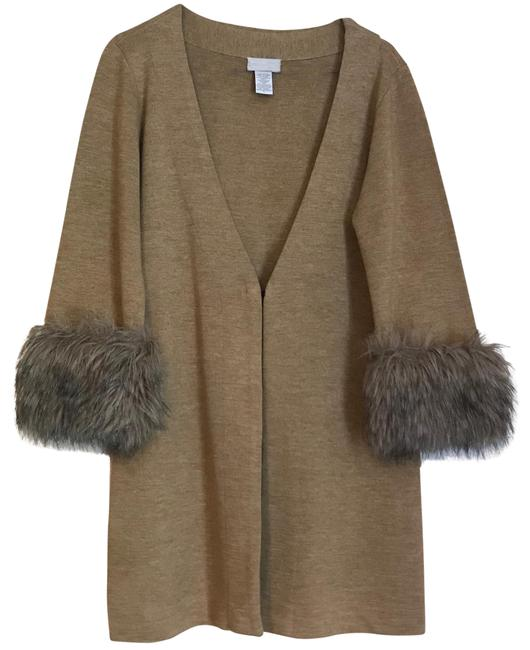 Preload https://item5.tradesy.com/images/soft-surroundings-taupe-fur-cuff-cardigan-size-8-m-22507259-0-3.jpg?width=400&height=650