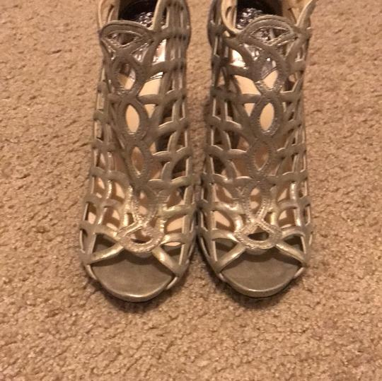Vince Camuto Party Heels gold/silver Formal