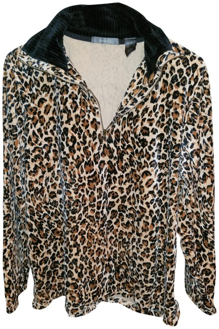 Preload https://item2.tradesy.com/images/liz-claiborne-black-and-light-brown-leopard-colors-sweaterpullover-size-16-xl-plus-0x-22507401-0-1.jpg?width=400&height=650