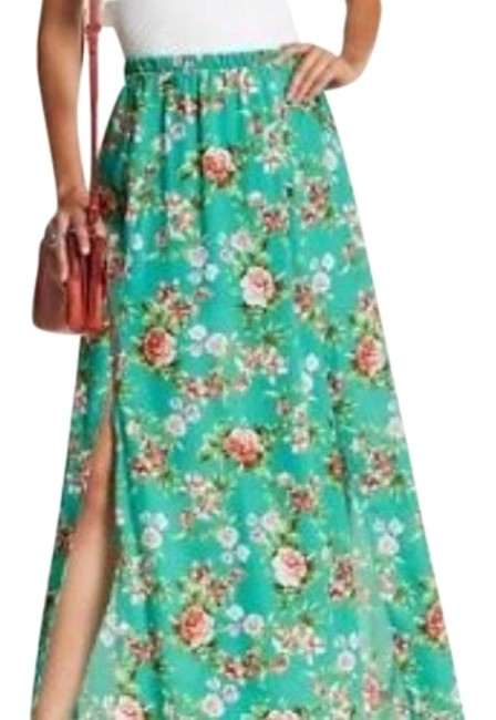 Preload https://item4.tradesy.com/images/peach-love-california-turquoise-maxi-skirt-size-4-s-27-22507413-0-1.jpg?width=400&height=650