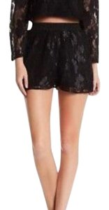 Lucca Couture Dress Shorts Black