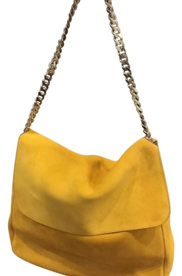 Preload https://item5.tradesy.com/images/celine-gourmette-mustard-yellow-suede-tote-22507504-0-1.jpg?width=440&height=440