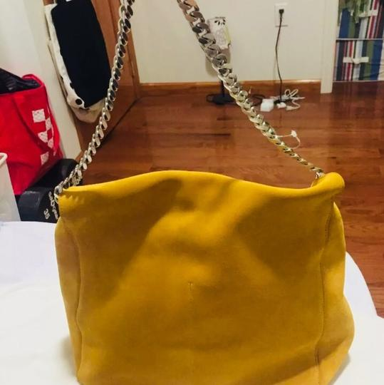 Céline Tote in Mustard yellow