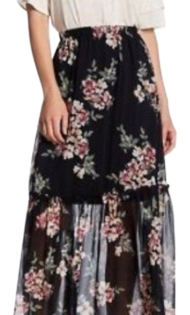 Preload https://item5.tradesy.com/images/bobeau-black-floral-woven-maxi-skirt-size-4-s-27-22507549-0-1.jpg?width=400&height=650