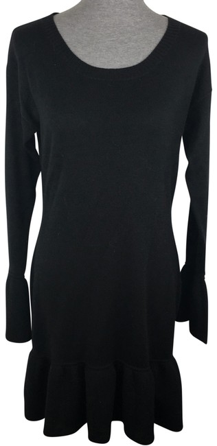 Preload https://item2.tradesy.com/images/mossimo-supply-co-black-sweater-trumpet-short-casual-dress-size-12-l-22507596-0-1.jpg?width=400&height=650