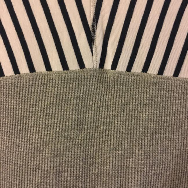 Splendid T Shirt Grey with Navy Stripes Image 2