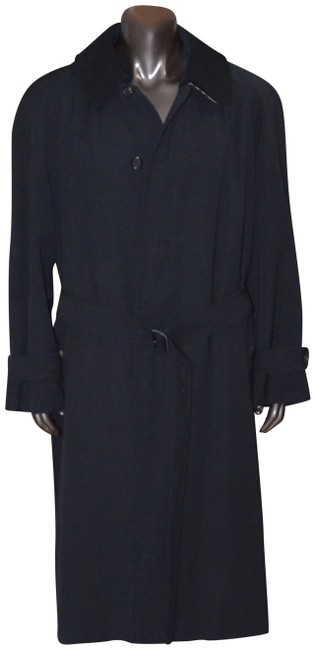 Item - Navy Blue Mens The Brighton For All Seasons -- Extra-long Coat Size OS (one size)