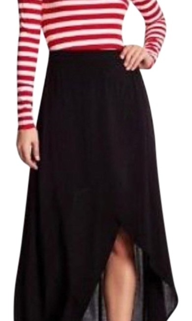 Preload https://item1.tradesy.com/images/love-fire-black-faux-wrap-maxi-skirt-size-4-s-27-22507695-0-1.jpg?width=400&height=650