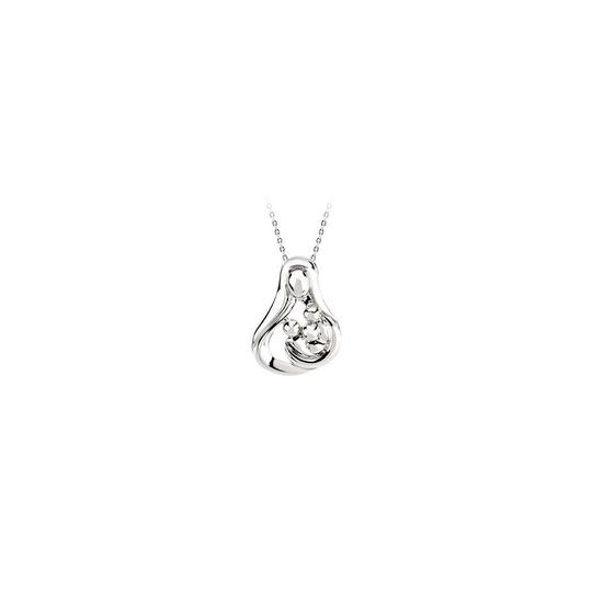 Preload https://item4.tradesy.com/images/red-silver-two-stone-rubies-freeform-pendant-925-sterling-necklace-22507763-0-0.jpg?width=440&height=440