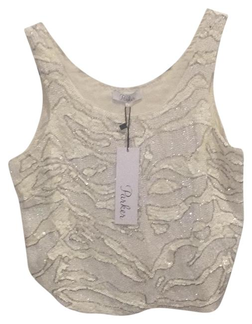 Preload https://item1.tradesy.com/images/parker-white-new-sequin-crop-night-out-top-size-4-s-22507850-0-1.jpg?width=400&height=650