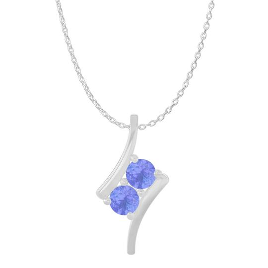 Preload https://item2.tradesy.com/images/blue-silver-2-stone-tanzanite-freeform-pendant-925-sterling-necklace-22507986-0-0.jpg?width=440&height=440