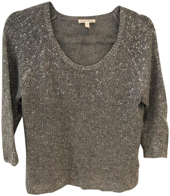 Preload https://item5.tradesy.com/images/eileen-fisher-metallic-silver-sweaterpullover-size-6-s-22507994-0-3.jpg?width=400&height=650