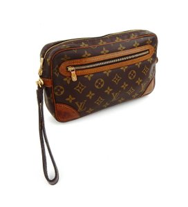 Louis Vuitton Vintage Marly Dragonne 25 Monogram Canvas Makeup Travel Toiletry Bag