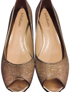 Kelly & Katie Gold/Silver Wedges