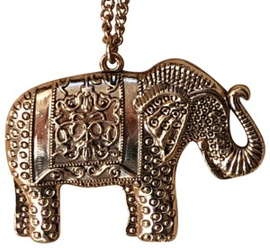 Free people elephant Free people elephant pendant necklace