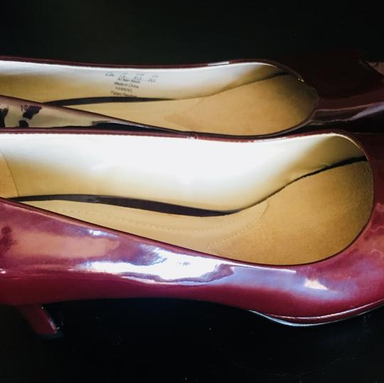 Naturalizer Red Wine Pumps Image 1