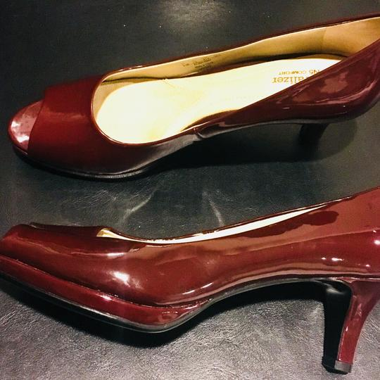 Naturalizer Red Wine Pumps Image 3