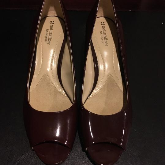 Naturalizer Red Wine Pumps Image 5