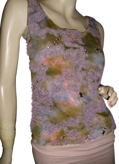 Preload https://item2.tradesy.com/images/mezon-purple-lavender-dip-dye-tie-dye-pearls-frayed-ribbon-trim-embellishments-tank-topcami-size-6-s-22508066-0-1.jpg?width=400&height=650