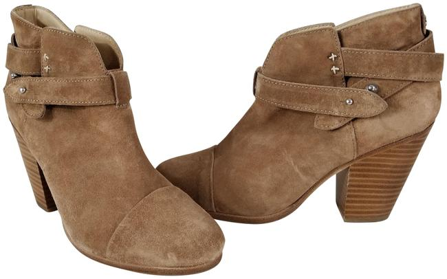 Item - Camel Suede And 'harrow' Boots/Booties Size EU 37.5 (Approx. US 7.5) Regular (M, B)