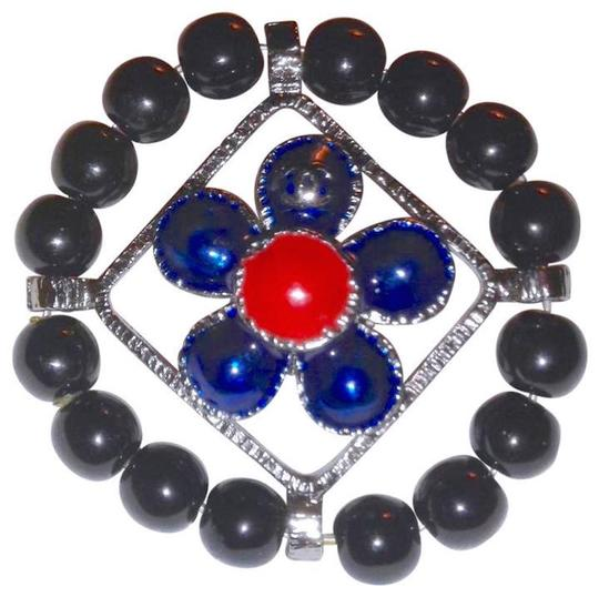 Preload https://item1.tradesy.com/images/chanel-silver-purple-black-red-cc-logo-brooch-pin-enamel-circle-flower-coral-maltese-cross-22508195-0-2.jpg?width=440&height=440