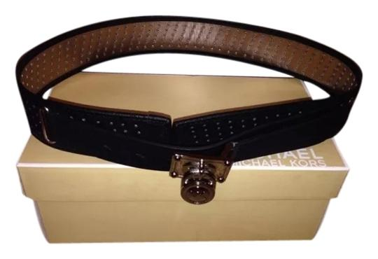 Preload https://item3.tradesy.com/images/michael-kors-black-perforated-saffiano-leather-wide-belt-2250822-0-0.jpg?width=440&height=440