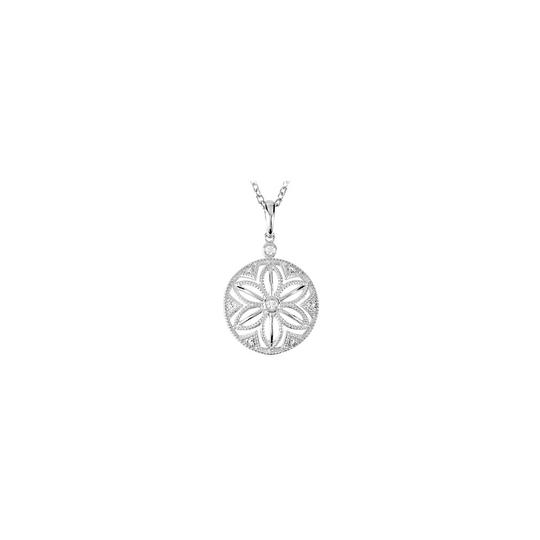 Preload https://item3.tradesy.com/images/white-silver-bezel-set-diamond-inch-in-925-sterling-of-004-cara-necklace-22508252-0-0.jpg?width=440&height=440