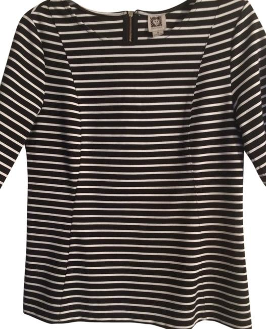Preload https://item2.tradesy.com/images/anne-klein-black-and-white-blouse-size-10-m-2250831-0-0.jpg?width=400&height=650