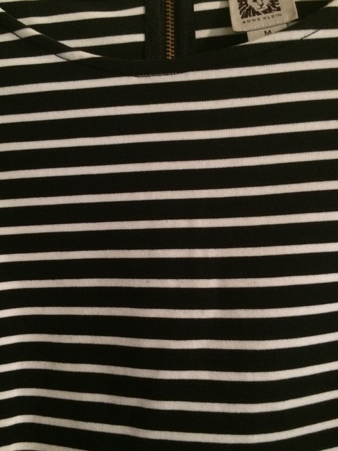 Anne Klein Top Black and White