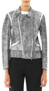 3.1 Phillip Lim Black & White Leather Jacket