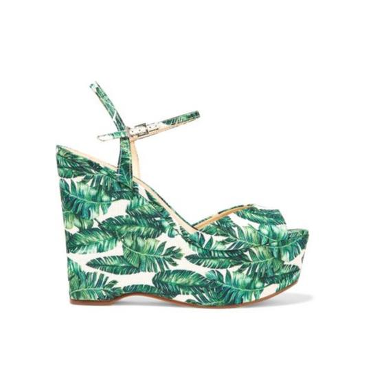SCHUTZ Green/White Platforms