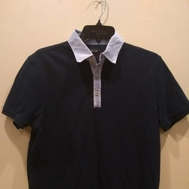 Preload https://item1.tradesy.com/images/massimo-dutti-navy-blue-men-polo-style-blouse-size-8-m-22508410-0-1.jpg?width=400&height=650