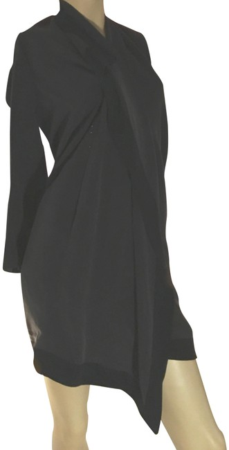 Preload https://item2.tradesy.com/images/gianfranco-ferre-black-mid-length-cocktail-dress-size-6-s-22508461-0-2.jpg?width=400&height=650