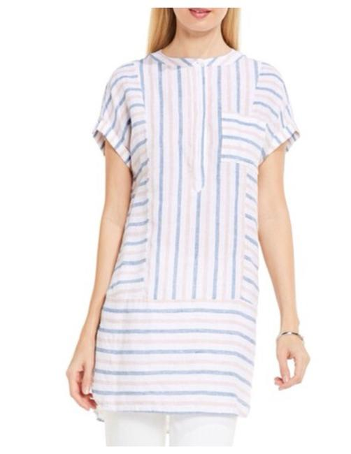 Preload https://item3.tradesy.com/images/vince-camuto-multicolor-women-s-stripe-linen-tunic-size-0-xs-22508602-0-0.jpg?width=400&height=650