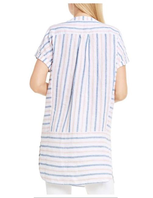 Vince Camuto Striped Linen Tunic Image 1