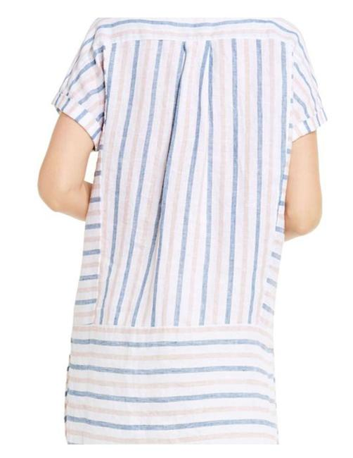 Vince Camuto Striped Linen Tunic Image 2